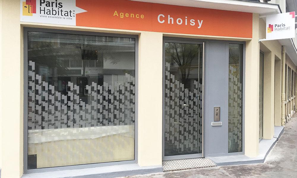 Agence Paris Habitat - Paris 13e (75) - Menuiseries extérieures