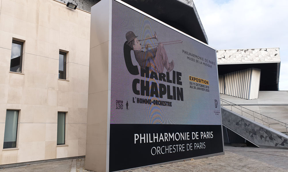 PHILHARMONIE de Paris – Structure support écran LED et habillage